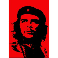 CHE GUEVARA RED AND BLACK