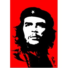CHE GUEVARA RED, BLACK AND WHITE
