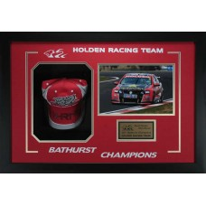 HOLDEN RACING TEAM 2011 BATHURST CHAMPIONS HAND SIGNED CAP