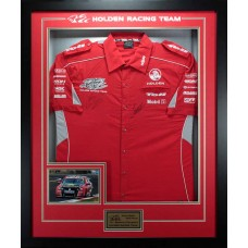HOLDEN RACING TEAM 2011 BATHURST CHAMPIONS HAND SIGNED JERSEY