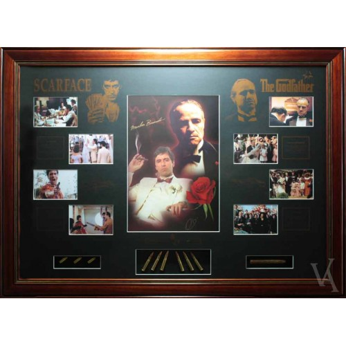 scarface and the god father signed limited edition coa