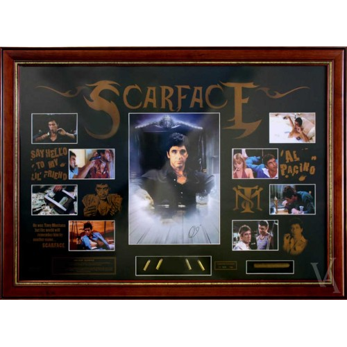 scarface signed framed limited edition coa