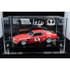 ALLAN MOFFAT MUSTANG BOSS 1:18 PERSPEX ACRYLIC DISPLAY CASE (CAR NOT INCLUDED)
