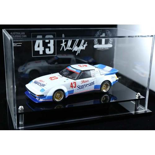 Allan Moffat Mazda Rx7 Atcc Perspex Acrylic Display Case Car Not