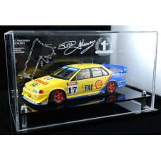 DICK JOHNSON BIANTE FORD 1:18 PERSPEX ACRYLIC DISPLAY CASE (CAR NOT INCLUDED)