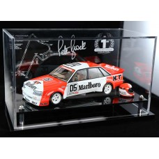 PETER BROCK 1984 VK COMMODORE BATHURST ACRYLIC DISPLAY CASE (CAR NOT INCLUDED)