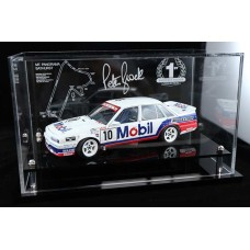 PETER BROCK 1987 VL COMMODORE BATHURST ACRYLIC DISPLAY CASE (CAR NOT INCLUDED)