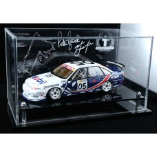 PETER BROCK MARK SKAFIE COMMODORE VS ACRYLIC DISPLAY CASE (CAR NOT INCLUDED)