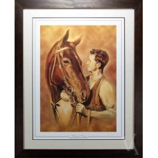 SALE PHAR LAP BOBBY & TOMMY FRAMED