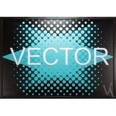 SALE VECTOR ILLUSTRATION WALL ART FRAMED
