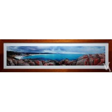 KEN DUNCAN FRAMED & SIGNED SCENIC SIGNATURE SERIES BAY OF FIRES