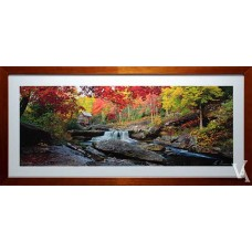 KEN DUNCAN FRAMED & SIGNED SCENIC SIGNATURE SERIES GLADE CREEK  GRIST MILL