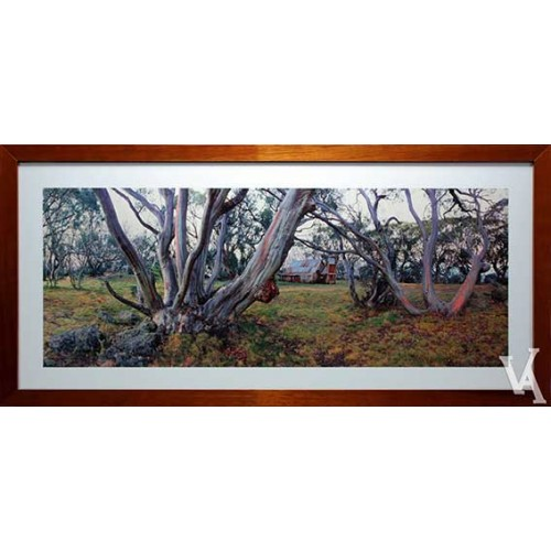 KEN DUNCAN FRAMED & SIGNED SCENIC SIGNATURE SERIES HIGH COUNTRY SHELTER