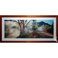 KEN DUNCAN FRAMED & SIGNED SCENIC SIGNATURE SERIES PARACHILNA GORGE SA
