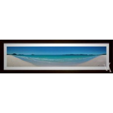 KEN DUNCAN FRAMED & SIGNED SCENIC SIGNATURE SERIES WHITEHAVEN BEACH