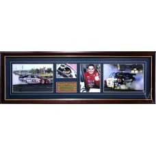 CRAIG LOWNDES HOLDEN HSV BURN OUT SIGNED & FRAMED