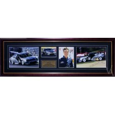 CRAIG LOWNDES FORD PERFORMANCE RACING SIGNED & FRAMED