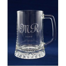 BEER GLASS MUG AWARD TROPHY CUSTOM LASER ENGRAVING