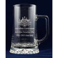 BEER GLASS MUG STEIN AWARD TROPHY CUSTOM LASER ENGRAVING LARGE SIZE