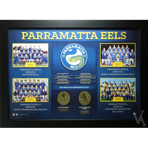 PARRAMATTA EELS FRAMED PHOTOS PRINT POSTER LIMITED EDITION